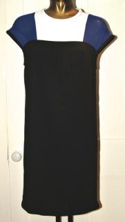 Maje colour block dress XS