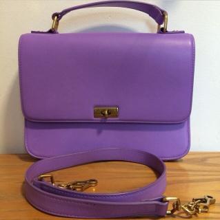 J Crew Purple Shoulder Bag
