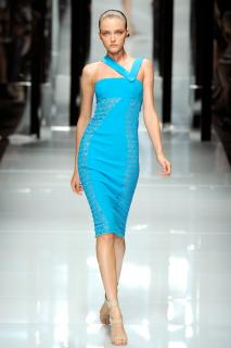 Versace runway dress