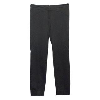 Versace black trousers