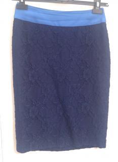 Versace lace pencil skirt