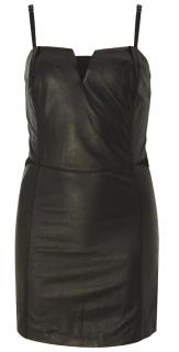 Diesel Black Leather Dress.