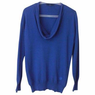 Alexander McQueen (McQ) blue sweater