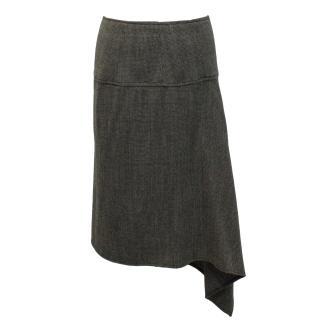 I-Blues wool blend skirt