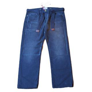 Marni x Current/Elliott 'The Line Print Boyfriend' jeans