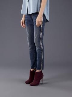 Current/Elliott studded jeans