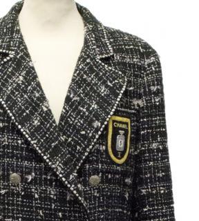 Chanel No.5 tweed coat
