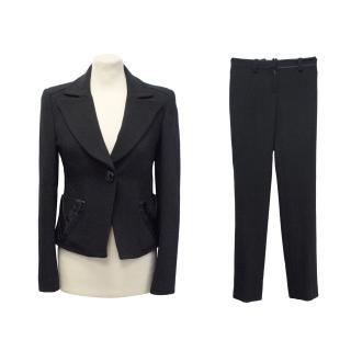 Versace Navy trouser suit