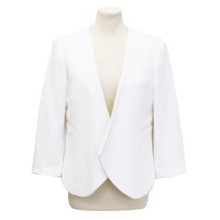 Chloe white tailored blazer