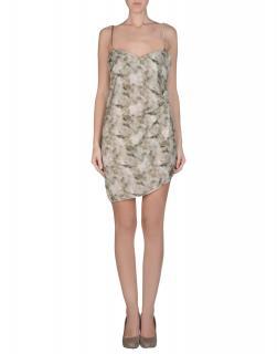 PATRIZIA PEPE Short Assymetrical Camisole Dress with Swarov