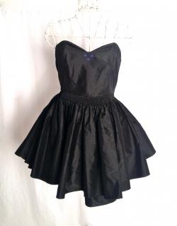 Luella black cocktail dress with bow