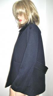 Burberry Bonded Wool Artist Jacket.