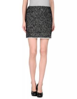 Karl Lagerfeld black & white Fleck Skirt