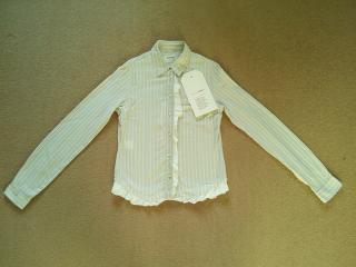 Hussein Chalayan pinstripe blouse