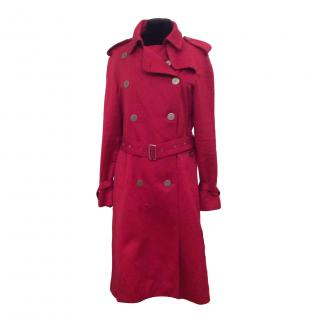Burberry Limited edition red trench