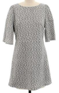 Alice + Olivia Metallic Tweed Dress