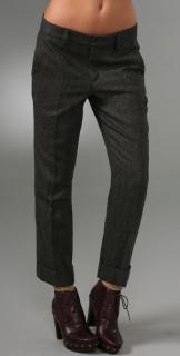 Marc by Marc Jacobs Reilly Heringbone Trousers