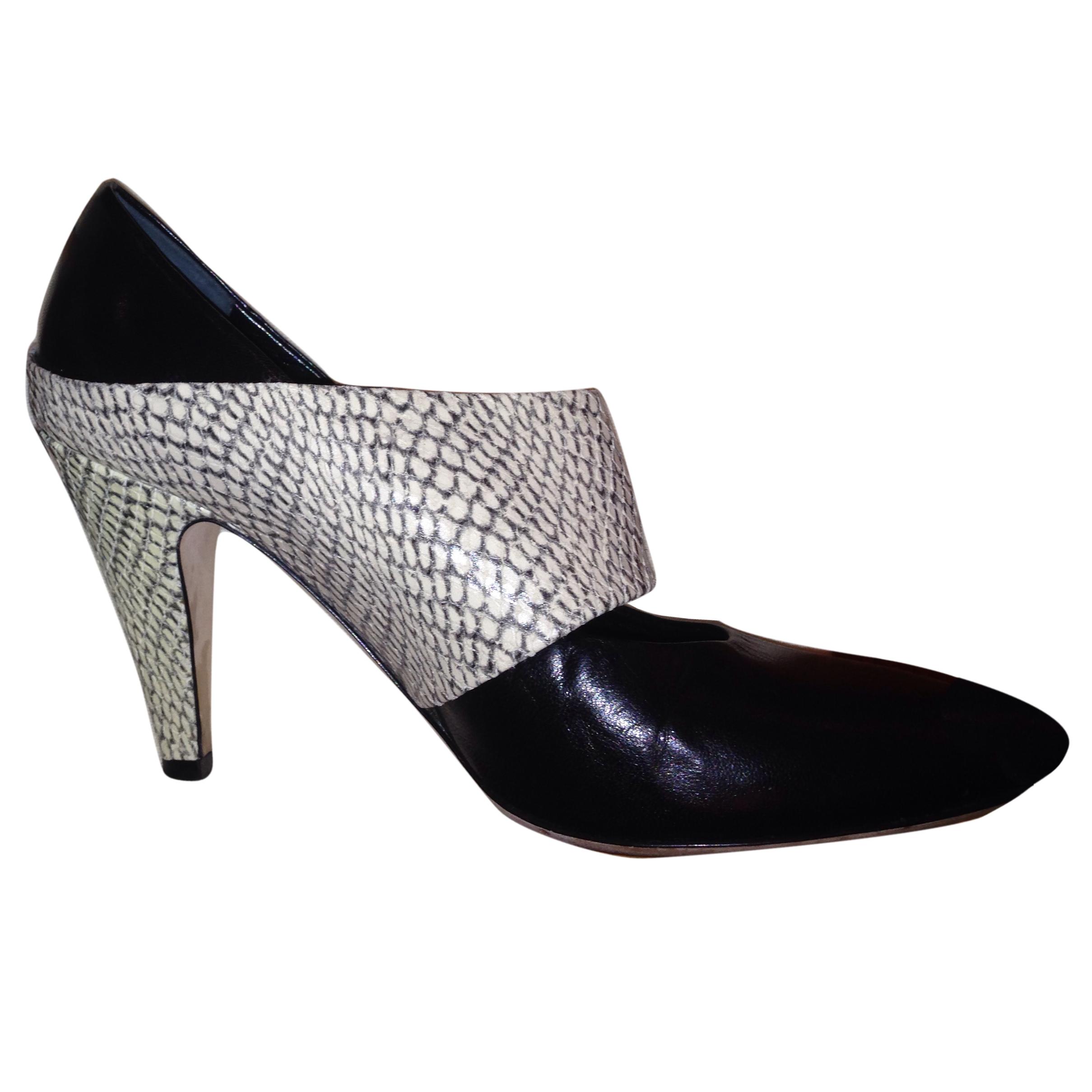 Loeffler Randall high heel black/white