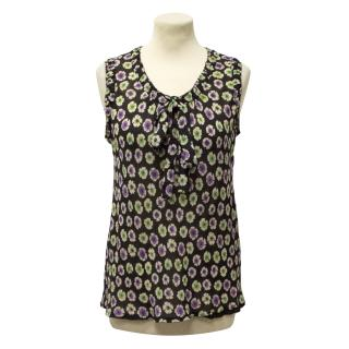 Marc Jacobs sleeveless flower print top