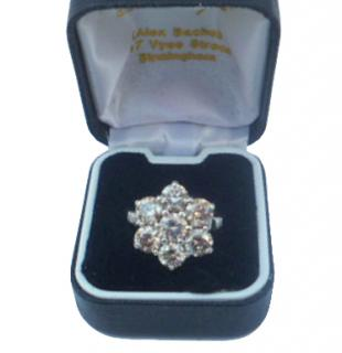 Hatton Garden Diamond Cluster Ring