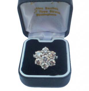 Hatton Garden Diamond Cluster Ring