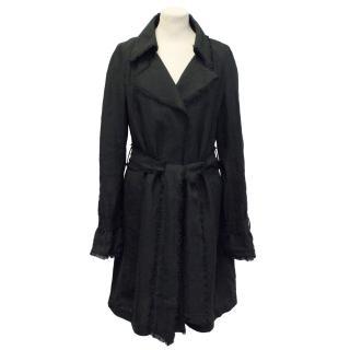 Bamford Black trench jacket