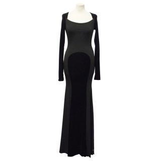 Essera black evening dress