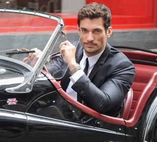 David Gandy's Dolce and Gabbana evening  suit