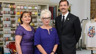 Patrick Grant's tie as worn at the Children in Need Sewing Bee
