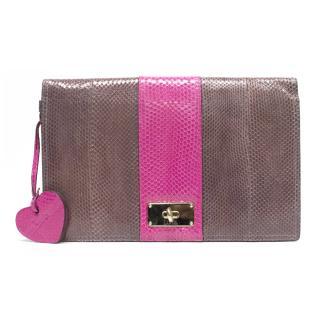 Luella clutch bag