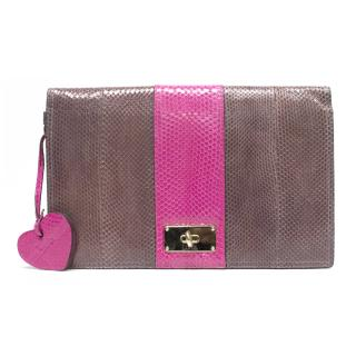 Luella clutch bag