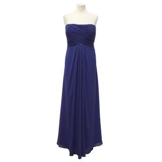 Oriental Pearl blue gown