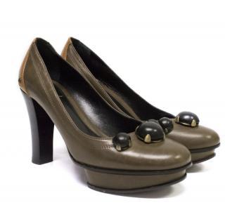 Fendi court shoes