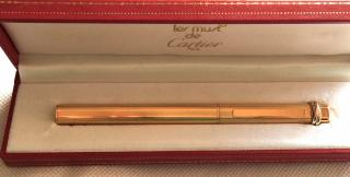 Cartier 18carat gold Trinity Ball Point Pen