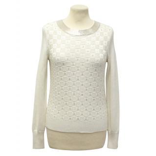 Temperley cream sweater
