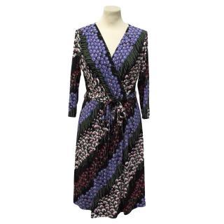Collette Dinnigan wrap dress