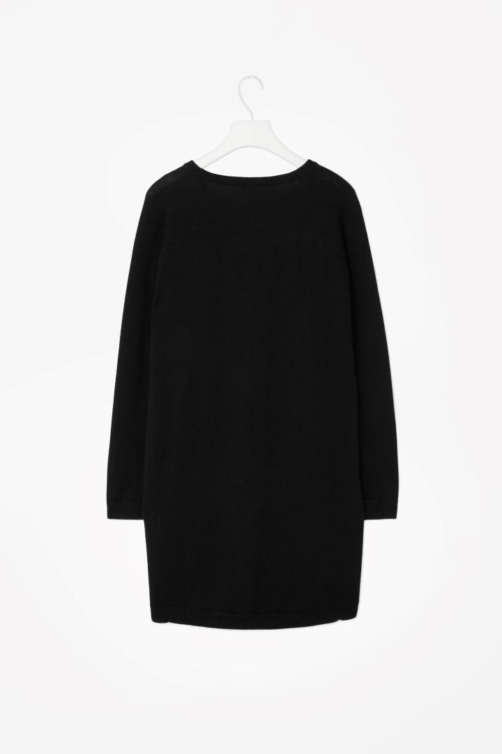 9b1f6b85a667 Cos Black Merino Sweater Dress034492   HEWI London