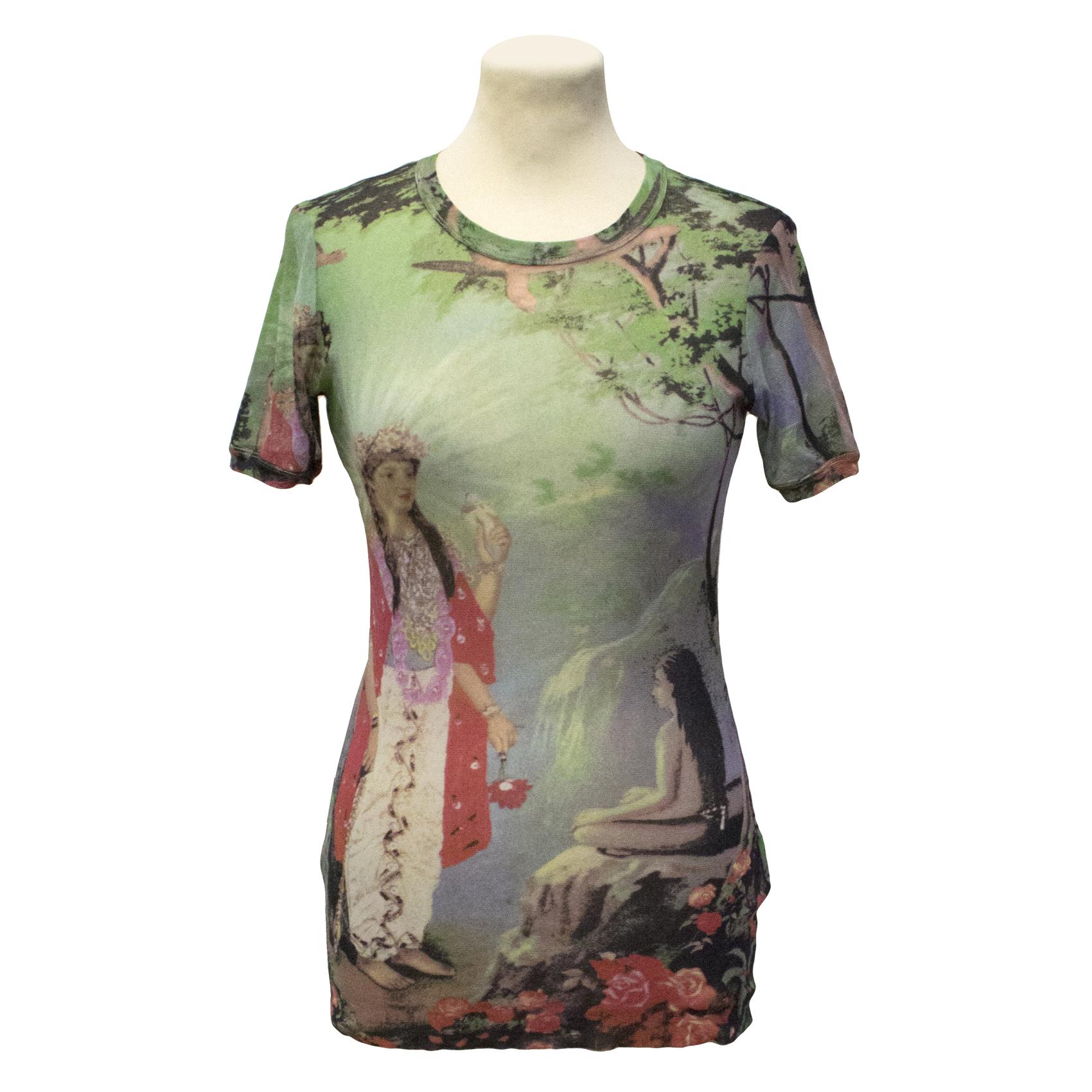 Jean Paul Gaultier Mesh T Shirt