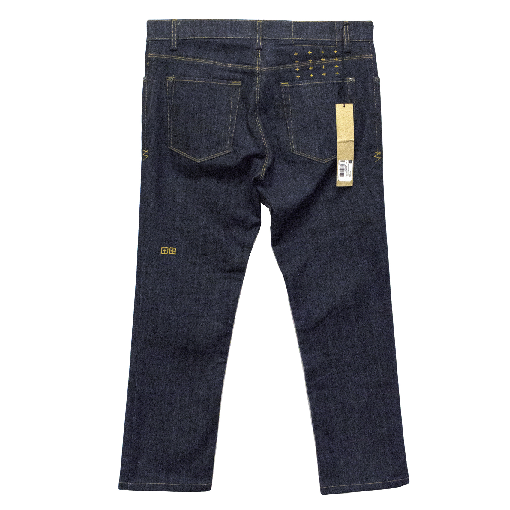 Ksubi Raw Rinse Indigo Jeans