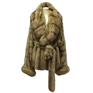 Fendi  Sable Fur Coat