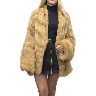 Christian Dior Rare Russian Sable Fur Coat