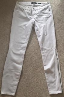 Serafontaine Emerald White Jeans