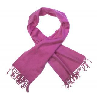 Hermes Pink Scarf