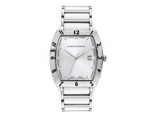 Chrono Diamond Watch with 3 Diamonds