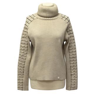 Chanel Beige Wool Jumper