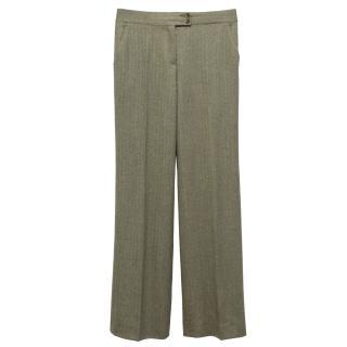 Etro Herringbone Trousers