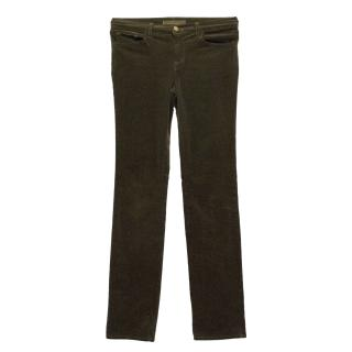 J Brand Brown Trousers