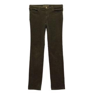 J Brand Brown Trousers