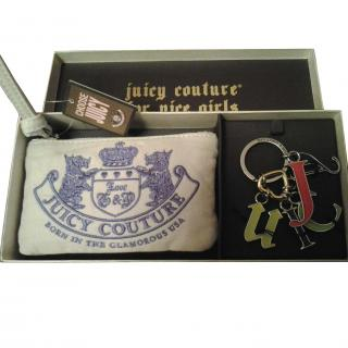 Juicy Couture purse and keyring gift set
