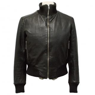 Yes London Black Leather Jacket